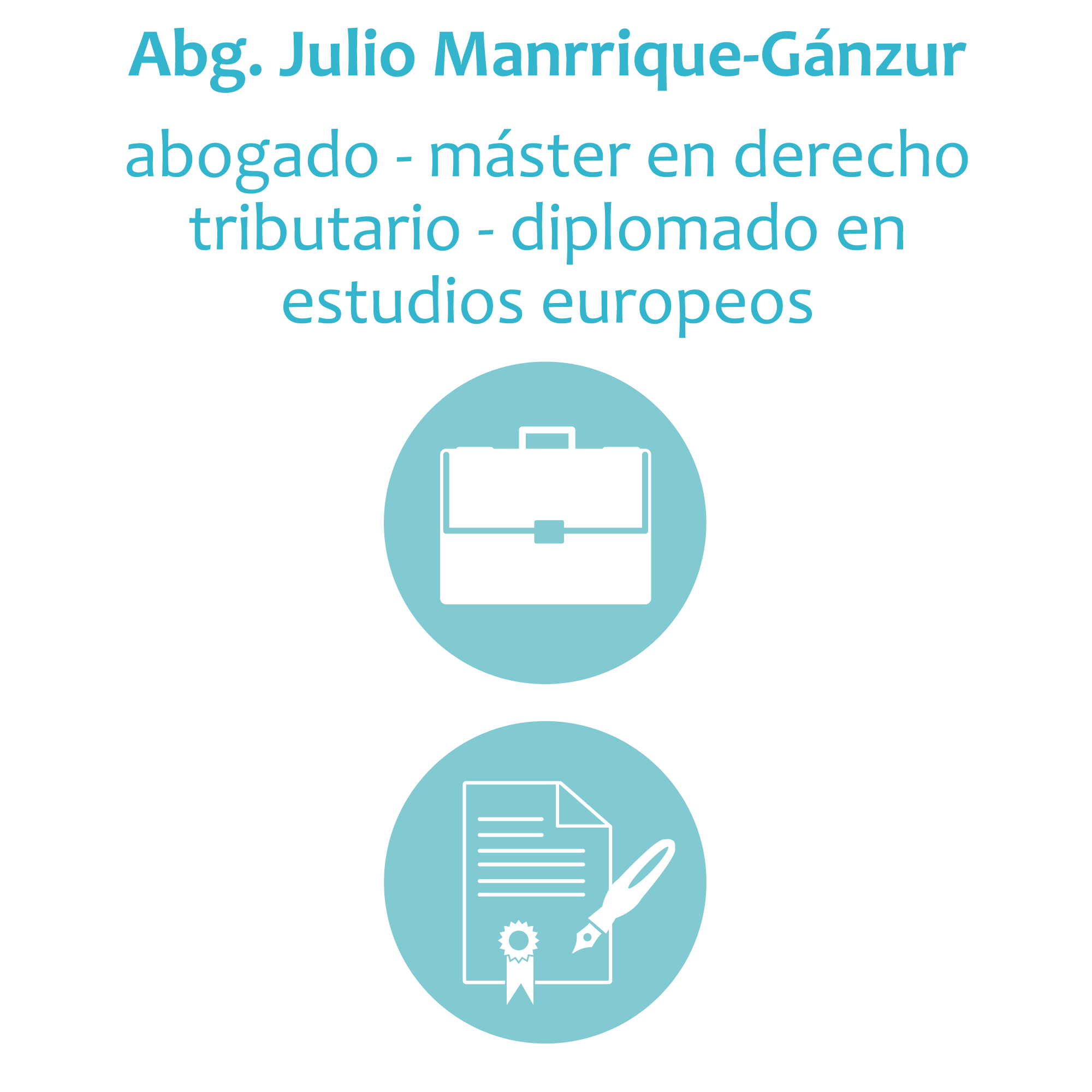 Abg. Julio Manriquez-Ganzur A.